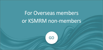 For Overseas members or KSMRM non-members
